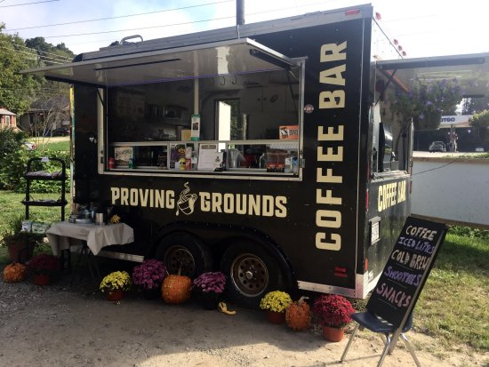 Proving Grounds Coffee Bar; Music Fest at Blue Bear Mountain, Boone, NC
